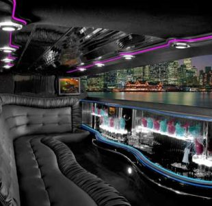 Chrysler 300 Limo Interior San Diego